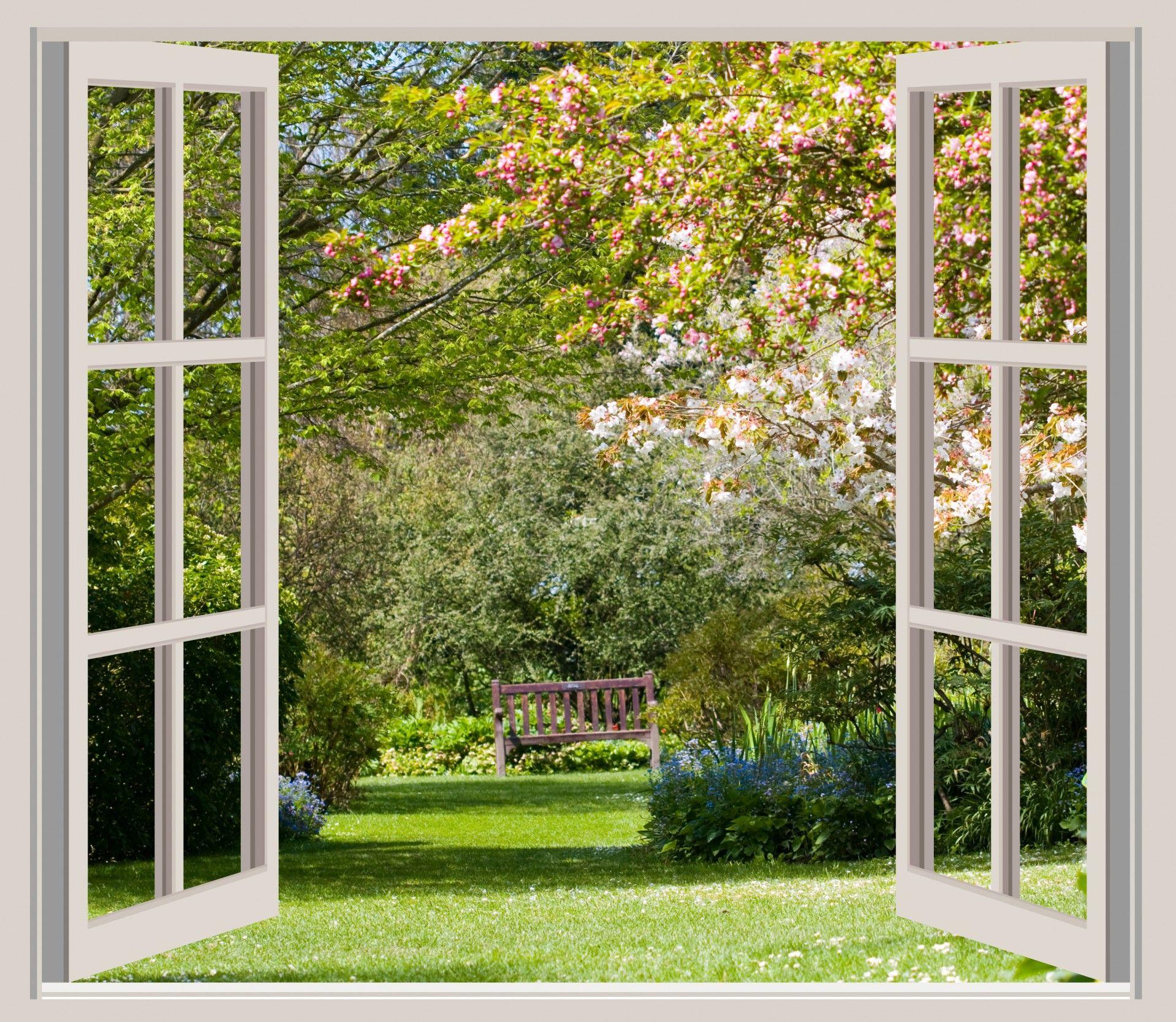 долгое фотообои вид из окна в сад примеру, платья бахромой