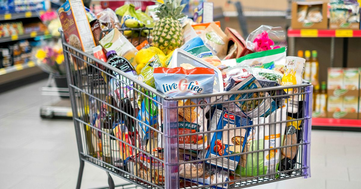 ALDI adds online grocery shopping delivery service cart