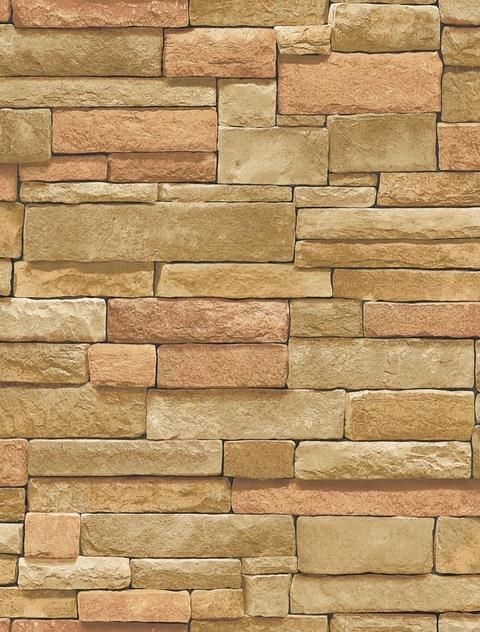 Ledgestone Wallpaper Bc1581938 From Design By Color