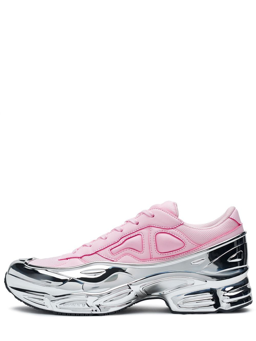 ADIDAS ORIGINALS ADIDAS PINK AND SILVER RS OZWEEGO SNEAKERS