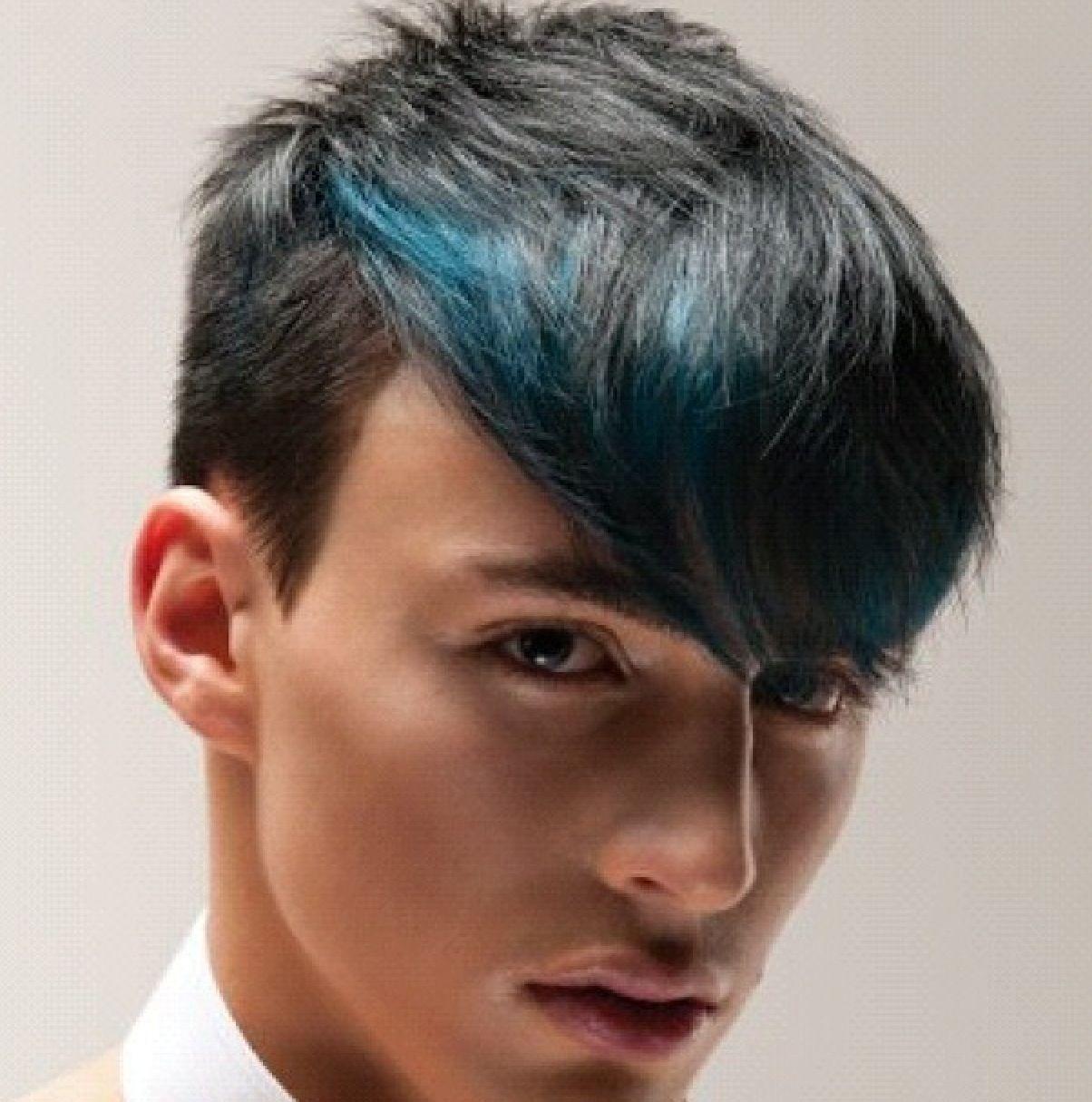 Blue Hair For Guys