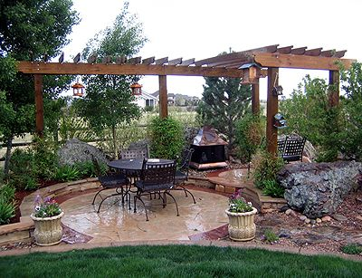 Backyard Arbors And Pergolas Garden Trellises A Great Focal Point For Your
