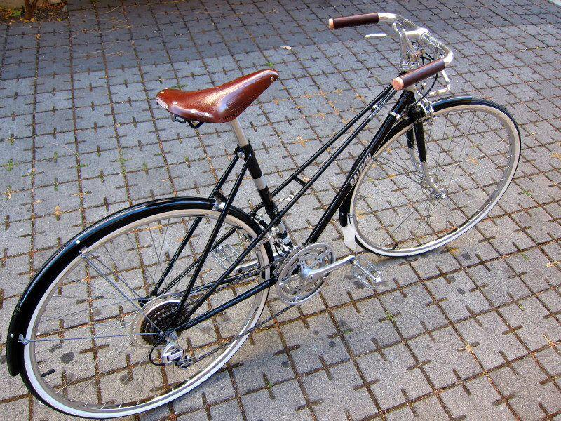 Raleigh Mixte Fahrrad Fixie Fahrrad Retro Fahrrad