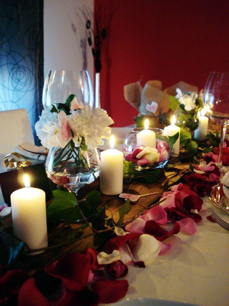 centro de mesa para la cena de la pedida de mano con familiares blog