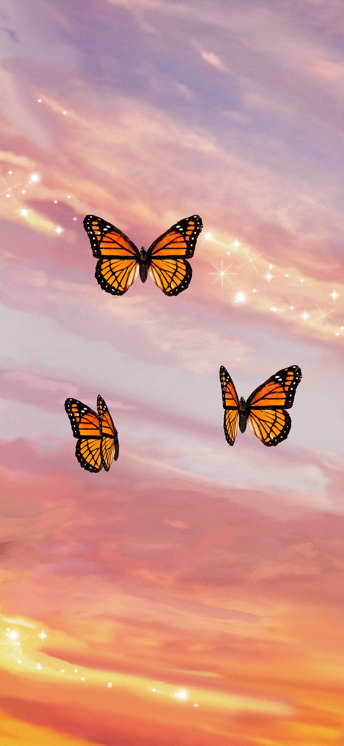 Butterfly Sunset Aesthetic Iphone Case By Trajeado14 In 2020 Butterfly Wallpaper Butterfly Wallpaper Iphone Iphone Wallpaper Tumblr Aesthetic