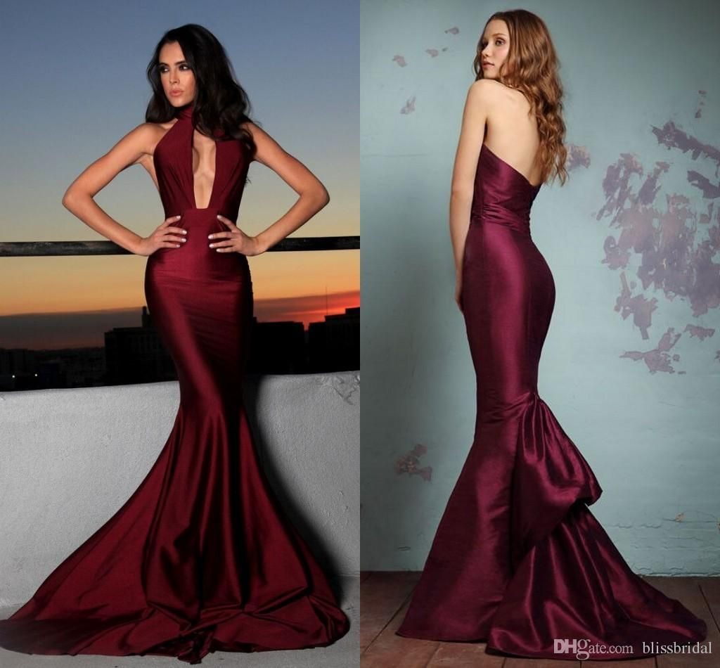 Sexy illusion evening gowns lace formal real photos prom
