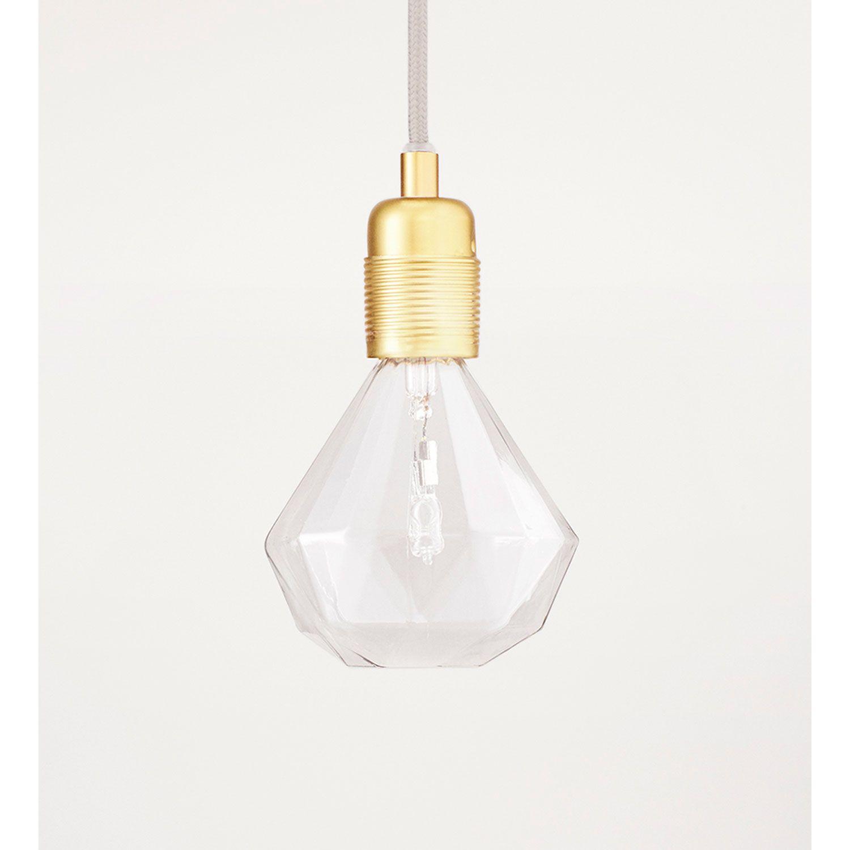 Frama Diamond Lights -halogeenilamppu, muotoilija Eric Therner. Kaunis ja tyylikäs lamppu yölampuksi.
