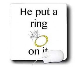Bride Quotes | Funny Quotes – He put a ring on it ...