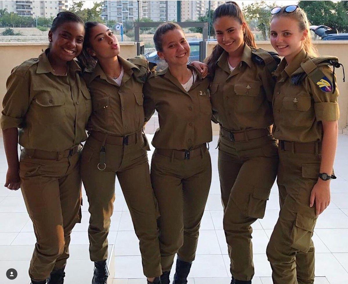 Idf - Israel Defense Forces - Women  Beauty In Uniform -8114