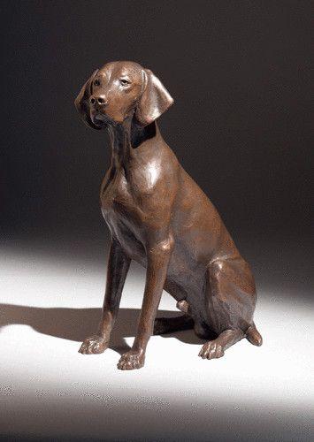 Oscar Limited Edition Bronze Dog Vivien Mallock