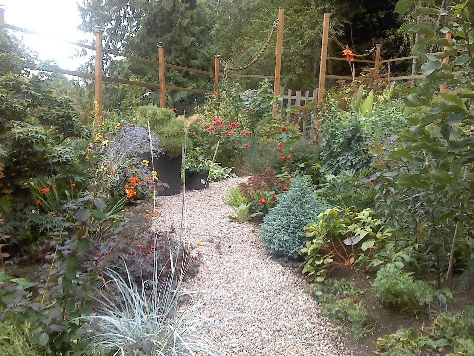 The Rainbow Garden with Deer Proof Fence fences and gates