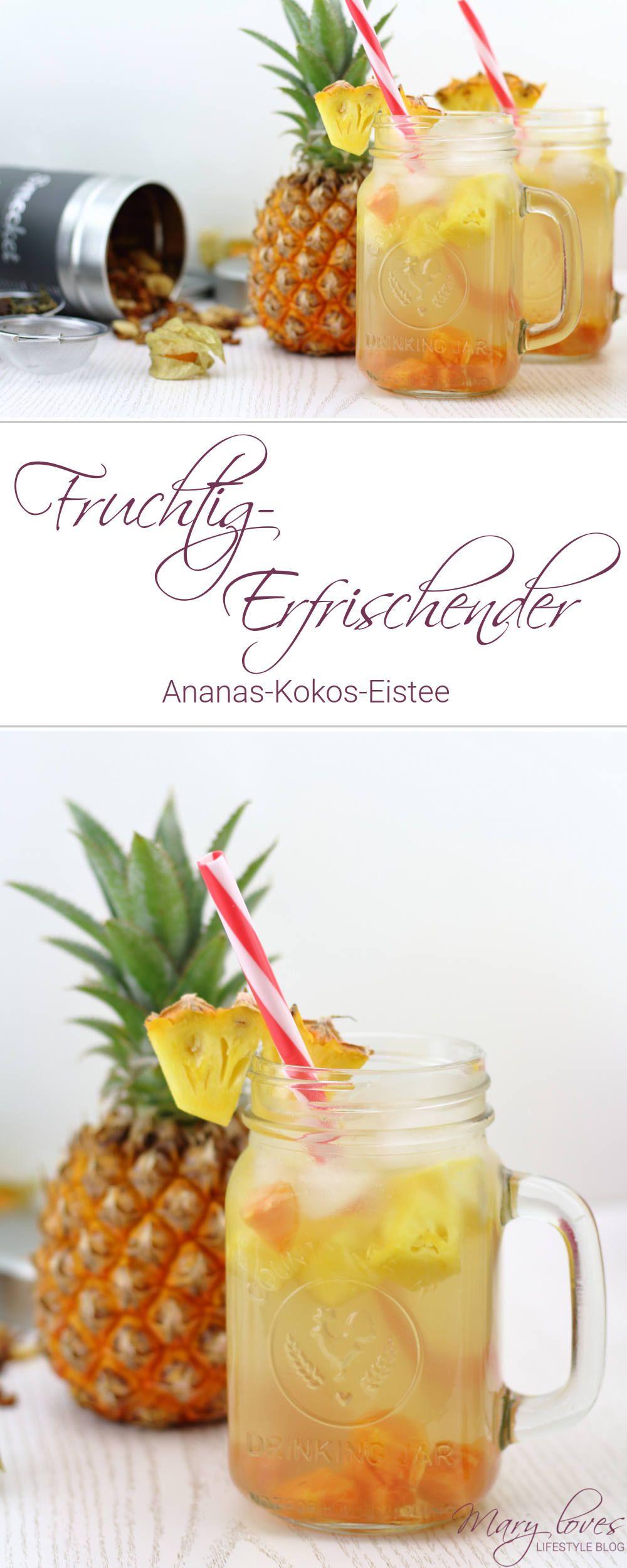 Fruchtig-Erfrischender Eistee mit Smecket | Pinterest | Ananas kokos ...