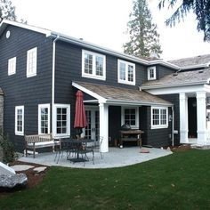 Exterior Paint Colors Grey dark grey exterior house paint | bedroom and living room image