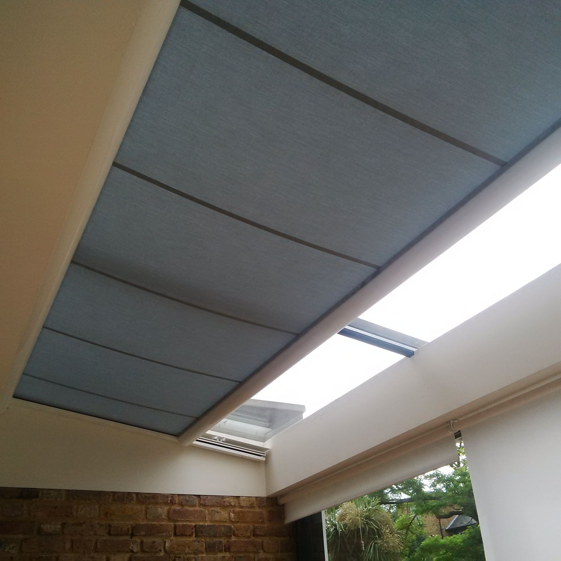 A Modern Contemporary Way To Shade Your Skylight By Deans Blinds