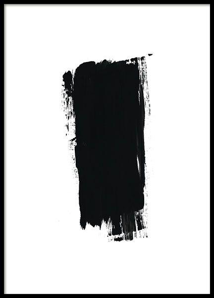 svart vit abstrakt konst