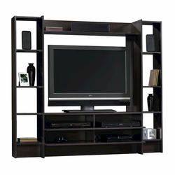 Sauder Beginnings Cinnamon Cherry Wall Entertainment System At Menards