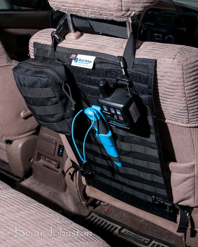 Truck Accessories Near Me >> Review: MOLLE Seat-Back Panel ~ Living Overland   Prepping ...
