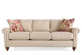 La Z Boy Leighton Sandstone Sofa With Images Sofa Vintage
