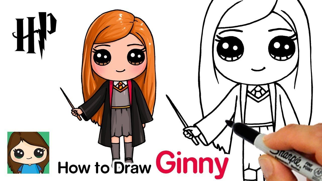 How To Draw Ginny Weasley Harry Potter Youtube En 2020