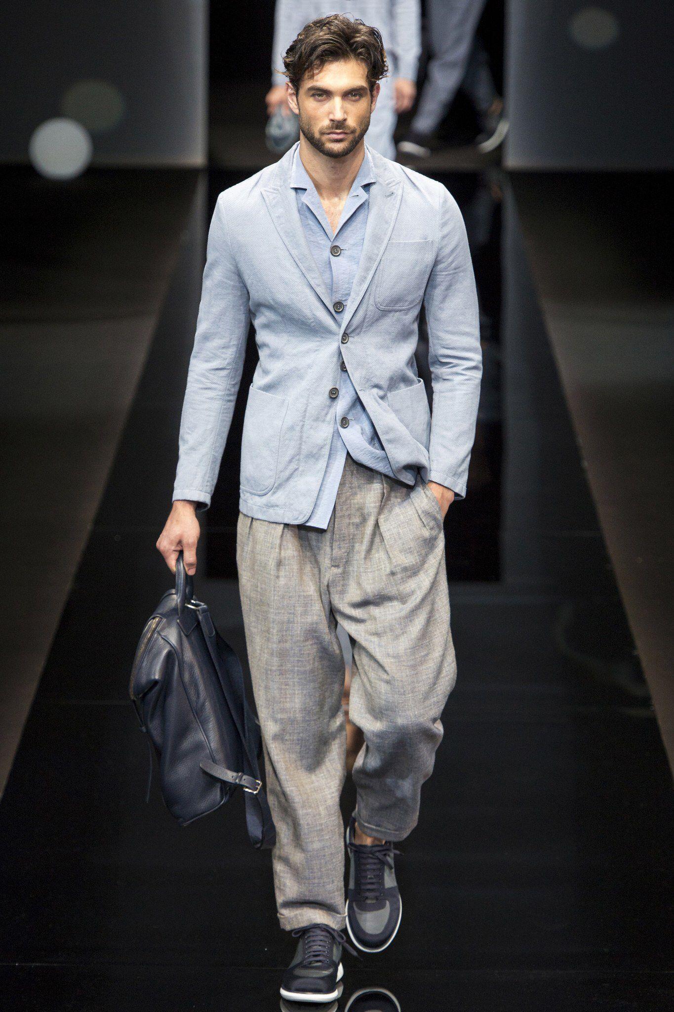 Armani giorgio clothes for men forecasting dress in summer in 2019