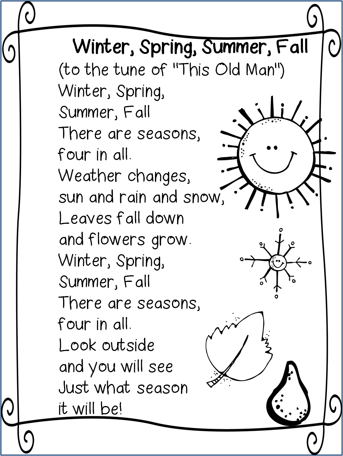 The 25 Best Seasons Poem Ideas