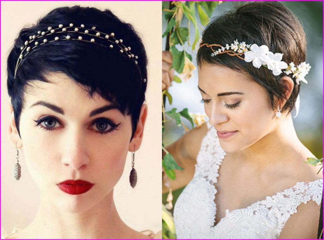 20 Short Pixie Wedding Hairstyles