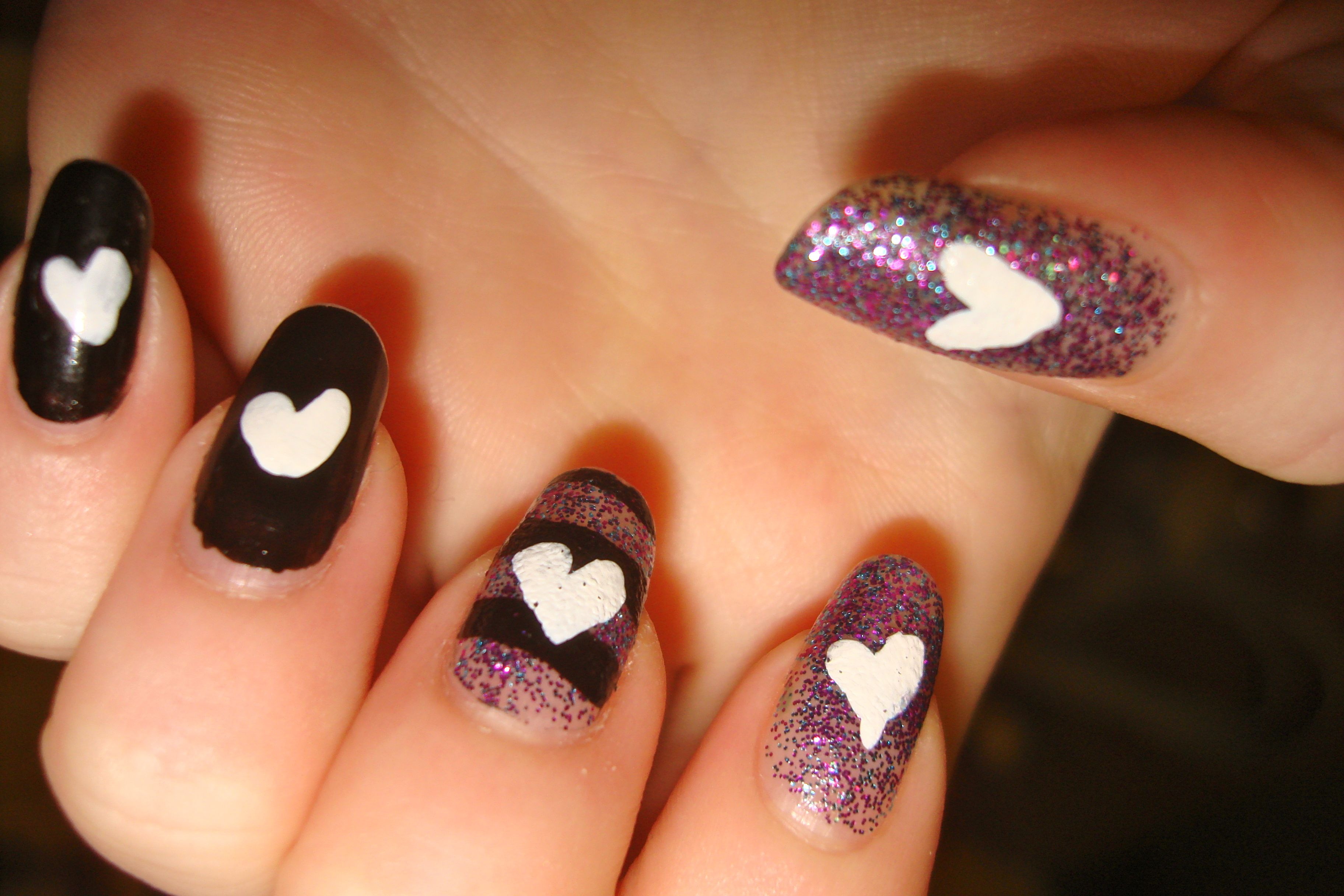 Look at my nails <3 | Live.Laugh.Love | Pinterest | Pretty hair
