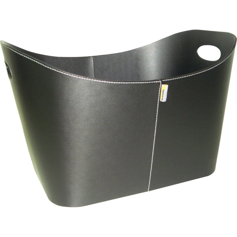 Panier à Bûches Noir Aduro Noir L548 X H42 Cm En 2019