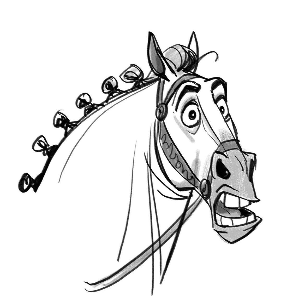 Пасху, смешные рисунки лошадок