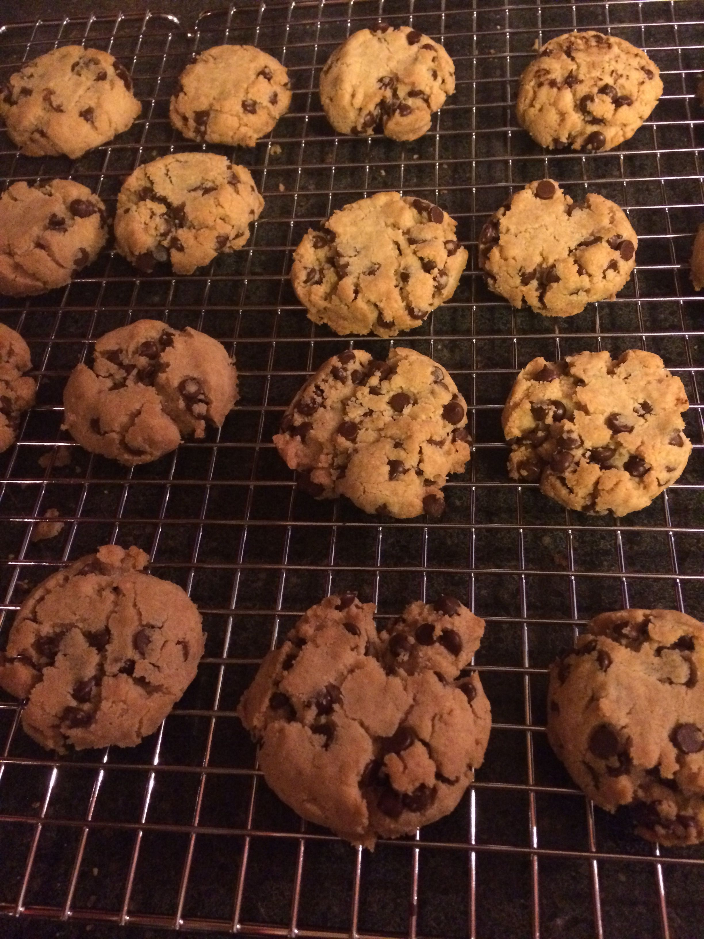 Allergy friendly chocolate chip cookies gluten free dair