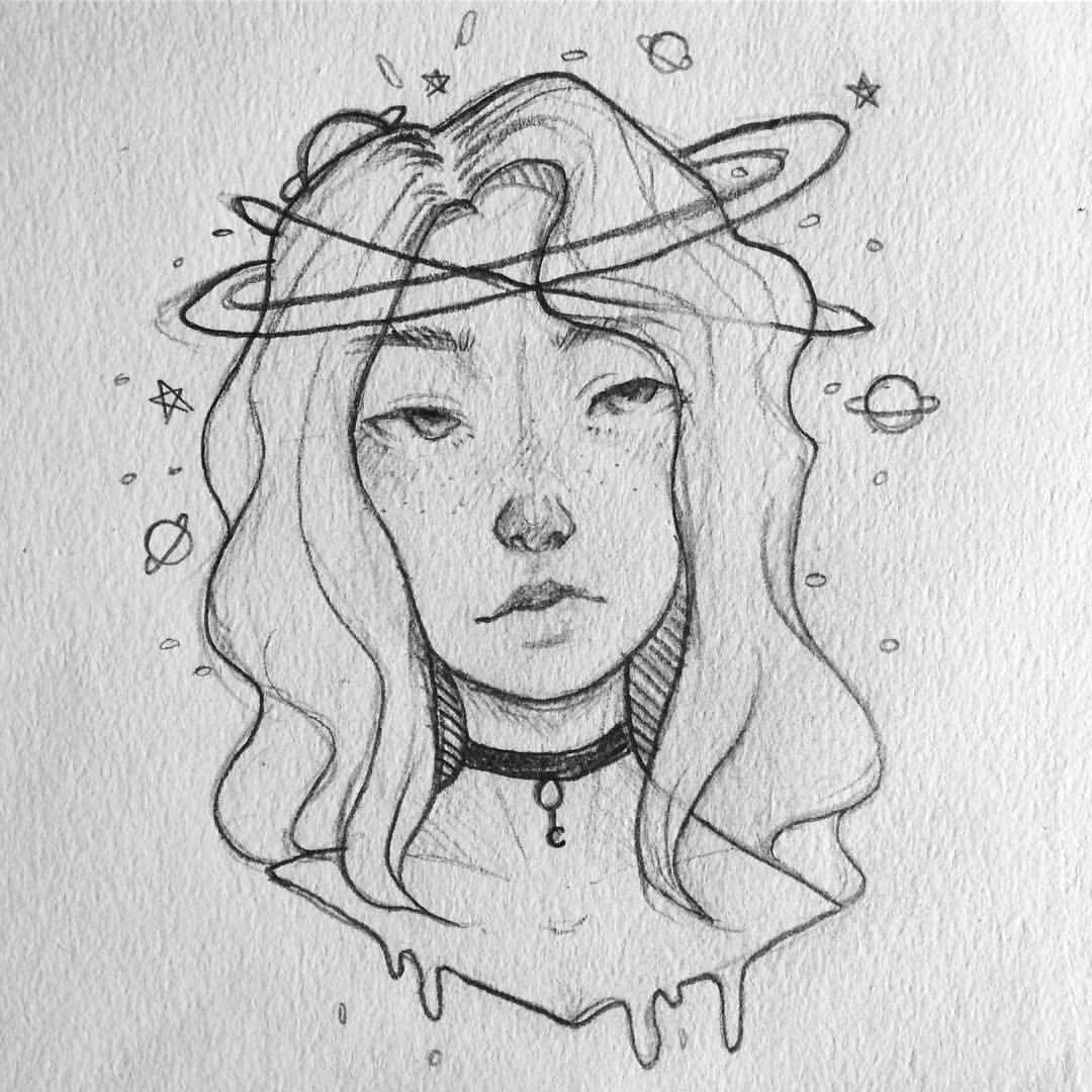sketch ideas | easy drawings sketches, space drawings