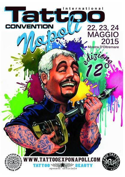 Tattoo Expo Napoli 22 Mai - 24 Mai 2015