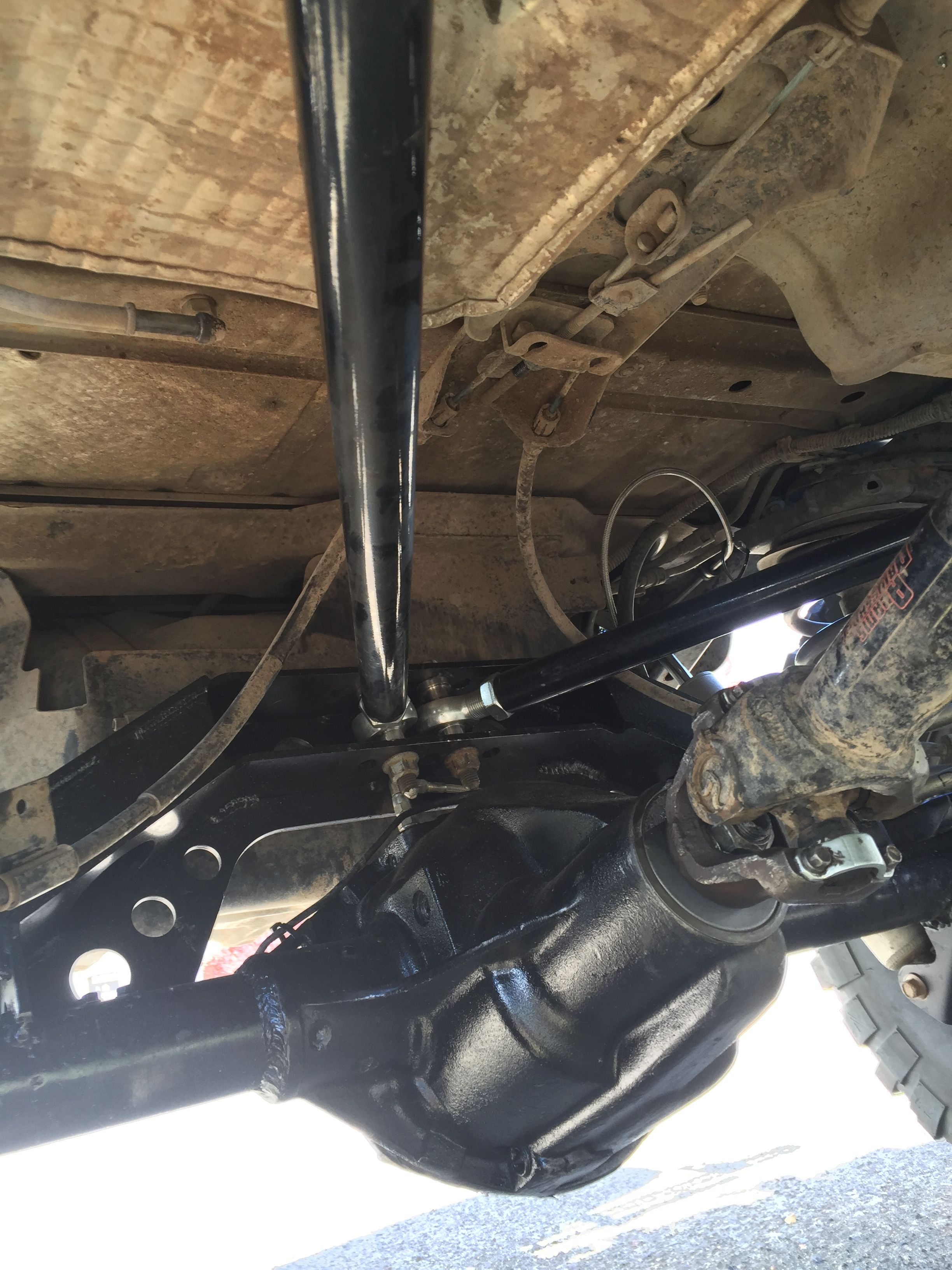 Rubicon Dana 44 Rear Axle 35 Spline Chromoly Shafts ARB Air