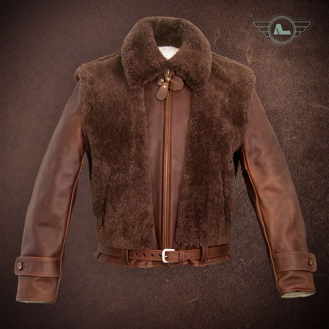 Grizzly Jacket By Alexander Leather Company