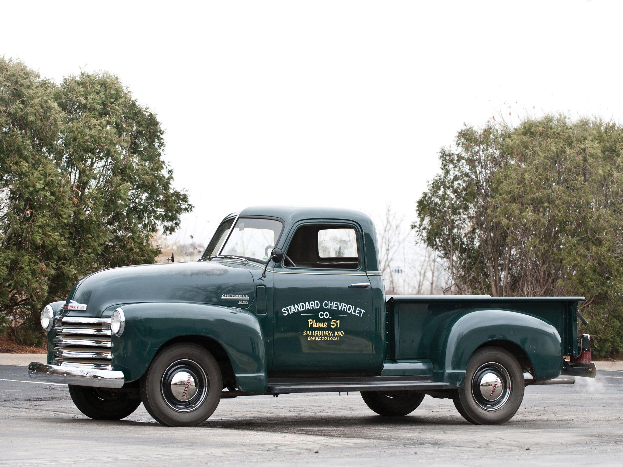 1950 Chevrolet 3100 Pickup Hp 3104 Truck Retro G Wallpaper 2048x1536 104934 Wallpaperup Trucks Classic Cars Trucks Old Pickup Trucks