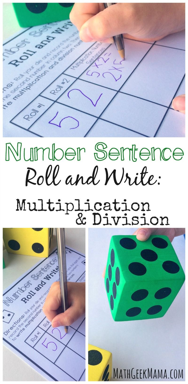 Simple And Low Prep Multiplication And Division Game Free With