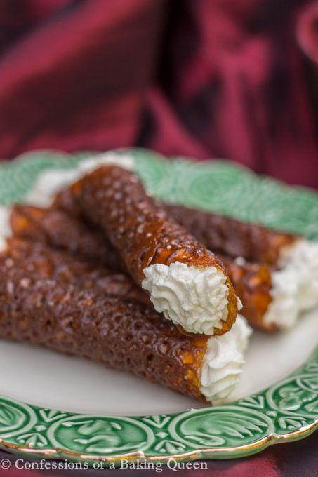 #Dessert / Brandy Snaps