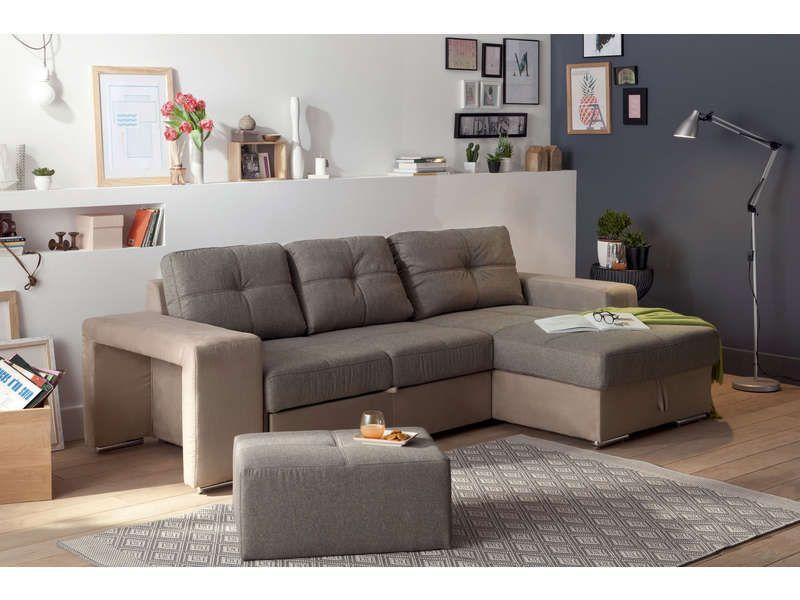 canap d 39 angle convertible r versible 4 places serata. Black Bedroom Furniture Sets. Home Design Ideas