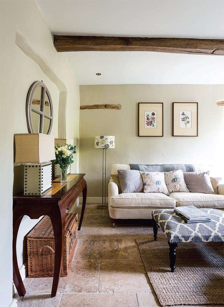 House Tour Small Country Cottage Cottage Living Rooms Cottage Style Living Room Country Living Room