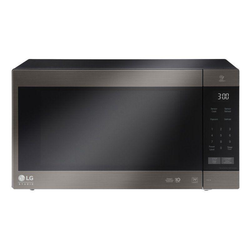 Lg Countertop Microwave 2 0 Cu Ft Black Stainless Steel