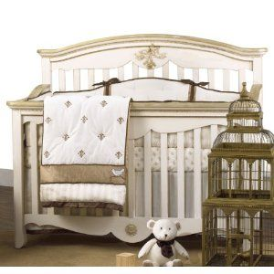 buy floral nipperland crib beige from baby piece cribs set bedding sets in