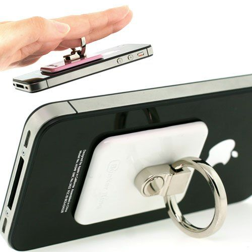 I think this is the genius I've been looking for to secure my phone as I take shots in awkward positions!