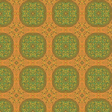 Osmanli ~ Neslihan  fabric by peacoquettedesigns on Spoonflower - custom fabric