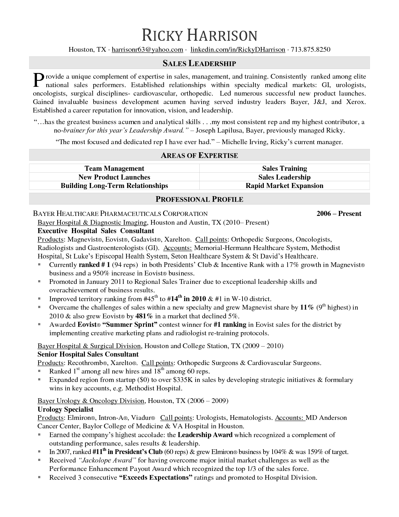 Example Of Military Resume Inspiration 21 Sales Representative Resume Examples  Sample Resumes  Sales .