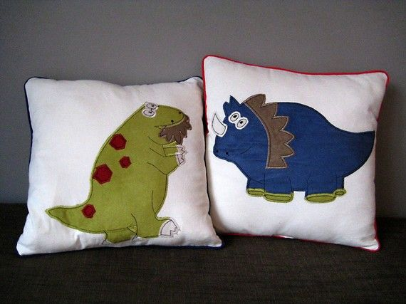 Last One Available Red Dinosaur Childrens Nursery By Leonandcoco