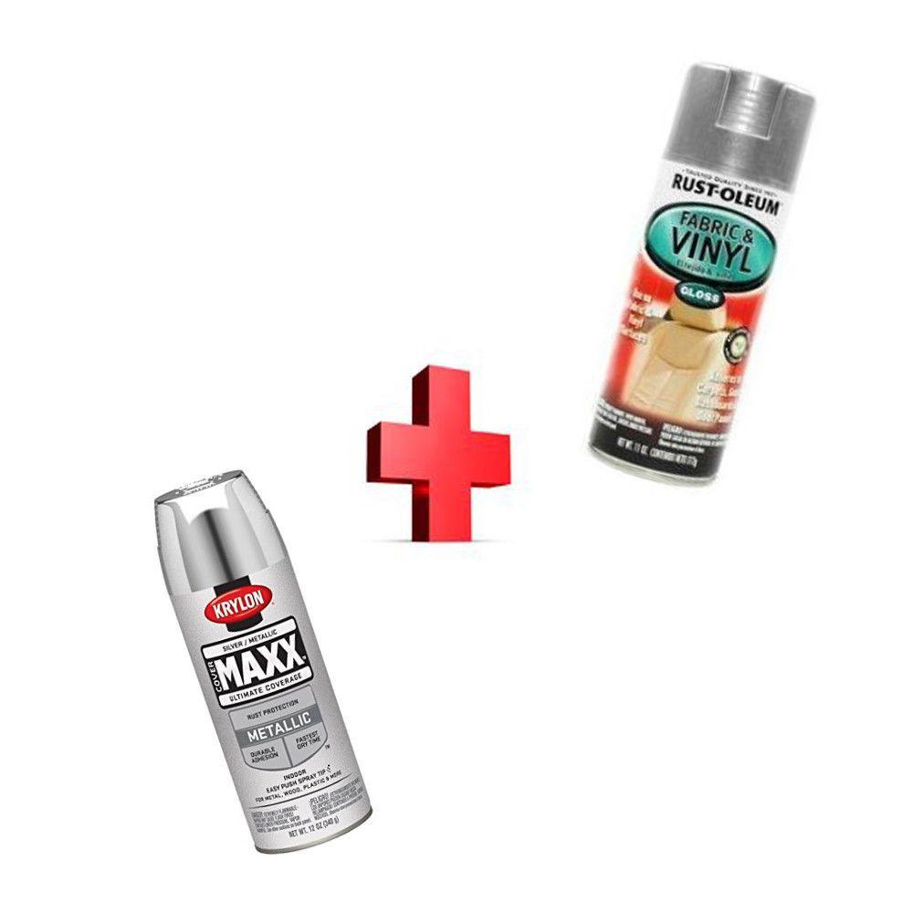 Rust-Oleum Automotive Spray Paint 11Ounce Silver + Spray