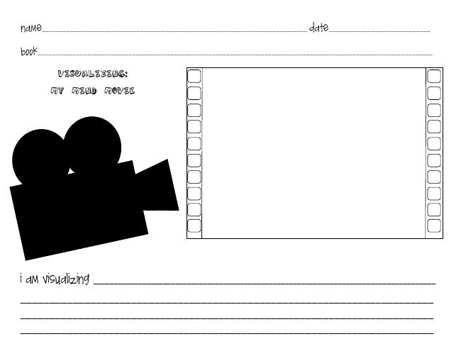 A Peddler's Dream: Visualizing Worksheet | Visualizing Reading ...