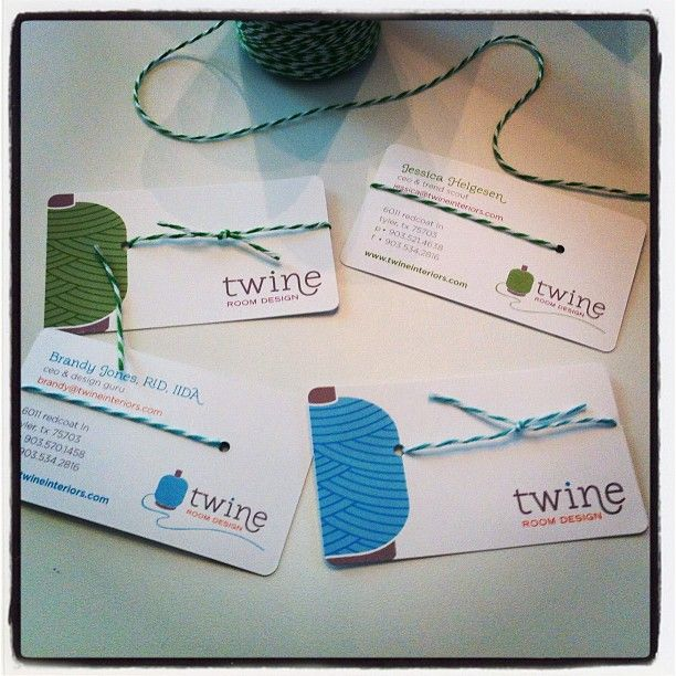 Business cards are in!!! We are loving them, now it's time to start tying!