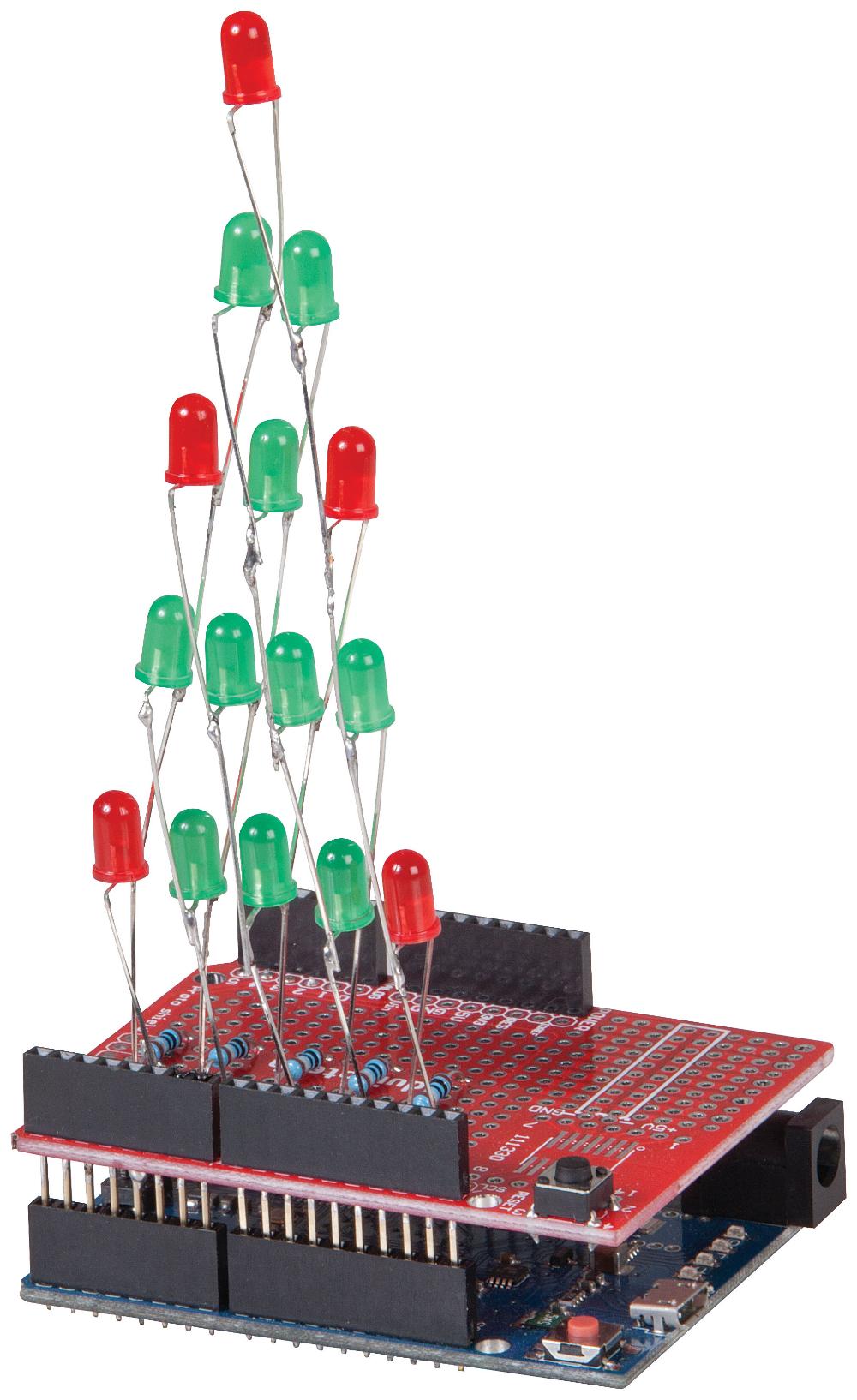LED Christmas Tree   Jaycar Electronics New Zealand in ...