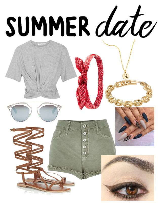 """Fair Date!"" by absolutely-mia on Polyvore featuring T By Alexander Wang, River Island, Lipsy, Charlotte Russe, Christian Dior, Calvin Klein, statefair and summerdate"